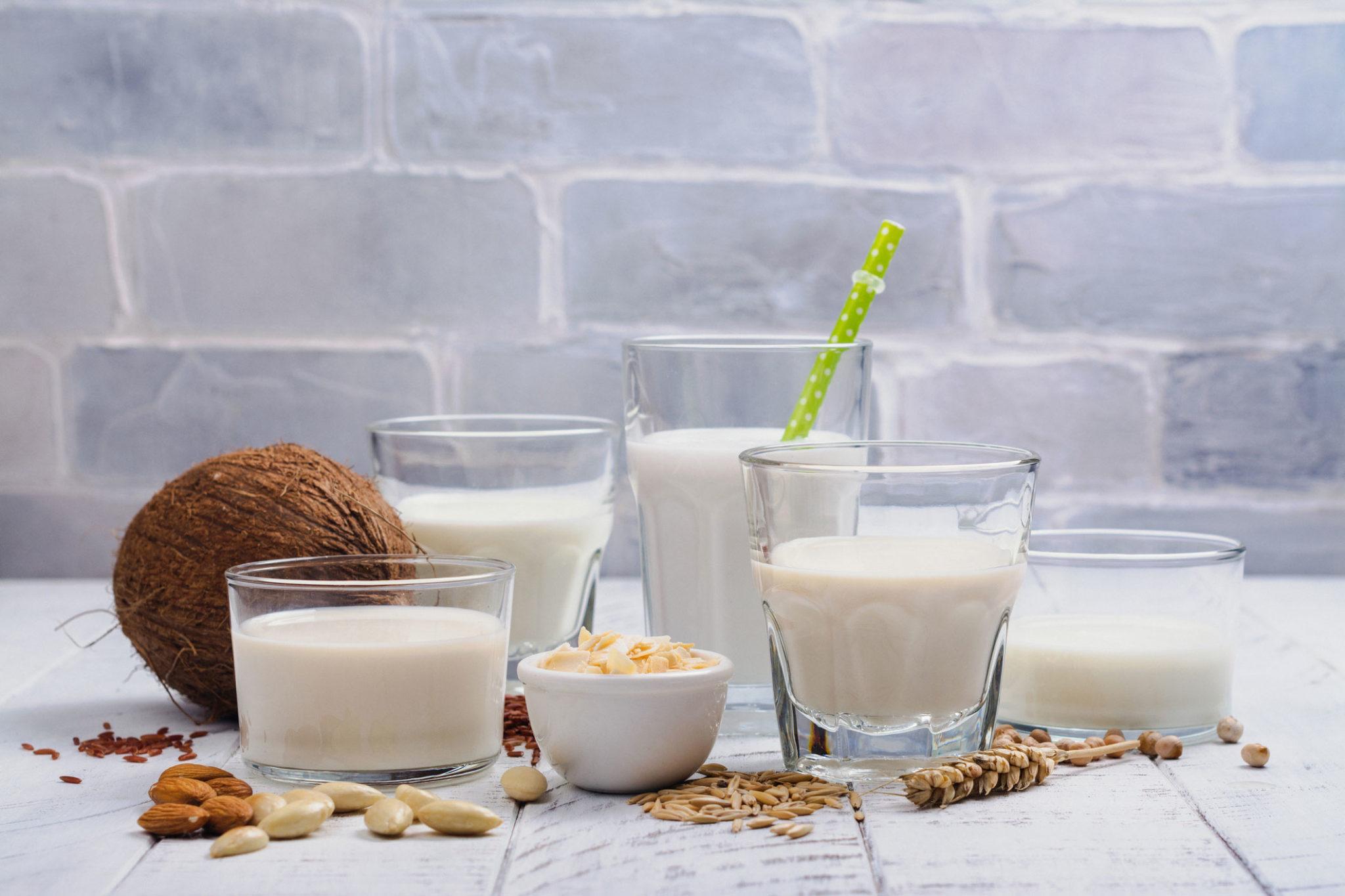 Different types of milks