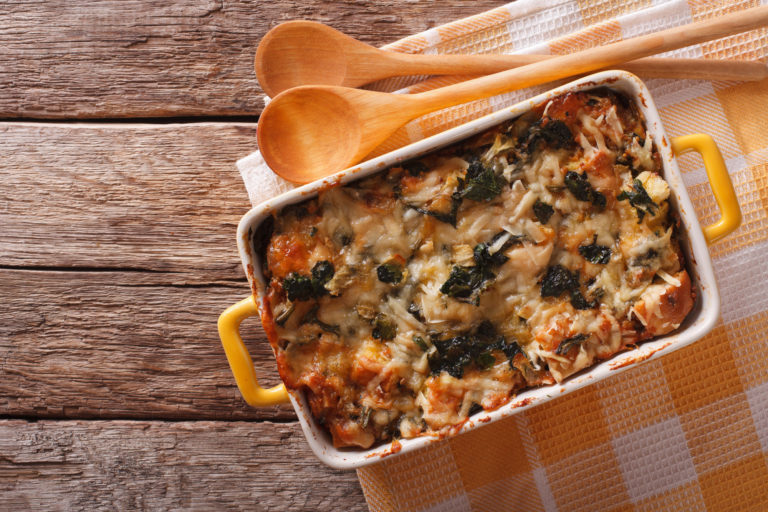 vegetable casserole or strata
