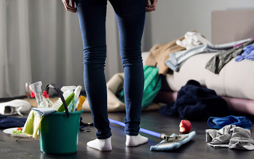 Tidying up to stay less stressed