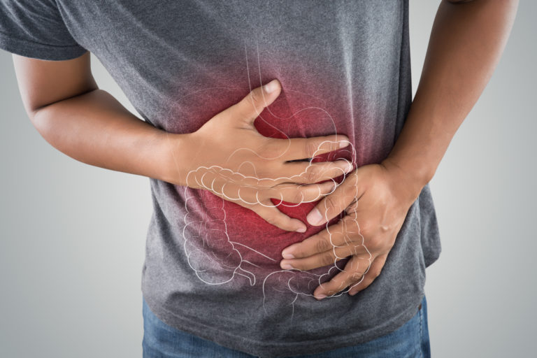 Irritable Bowel Syndrome on man