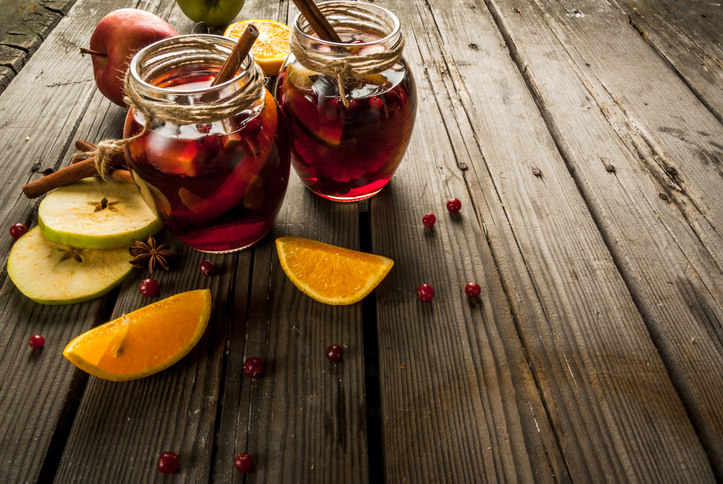 Autumn Cranberry Apple Cider