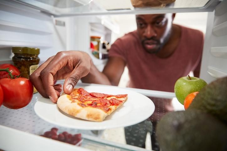 Leftovers in the fridge
